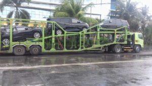 Kirim Mobil 3 unit Ke Surabaya